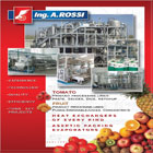 Complete processing lines for Food Industry.