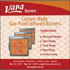 VAPA Burners established in 1960, is the pioneer in manufacturing gas fired infrared burners in Lebanon.